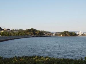 玉津島神社方向