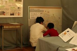 自分の家はどこかな?、石黒信由の江戸時代の絵図を利用した越中歌枕マップ